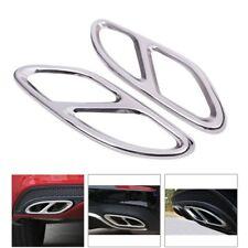 Paar Look Auspuffblende Auspuff Abdeckung für Mercedes Benz E-Klasse W212 W213