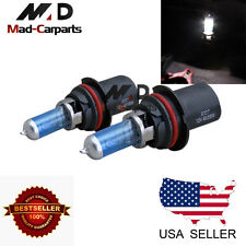 9007 100w Halogen Xenon Headlight Replacement 2x Light Bulb Lamp 6000K White