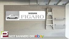 Nissan Figaro Workshop Garage Banner Nissan Micra