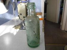 Vintage Glass Bottle and earthen ware ginger beer pot J Bonney & Son Reigate
