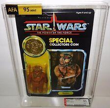 1985 Star Wars POTF Romba 92 Back UP AFA 95 Mint Figure - - FREE PRIORITY MAIL
