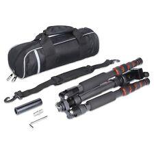 Rollei Fotostativ Traveler schwarz, kleines, leichtes Reisestativ aus Carbon