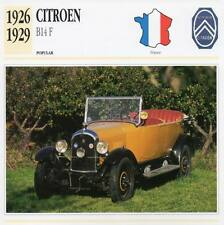 1926-1929 CITROEN B14-F Classic Car Photograph / Information Maxi Card