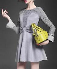 Polyester Regular Size Dresses for Women's 1960s