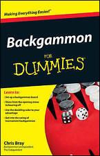 Backgammon For Dummies-ExLibrary
