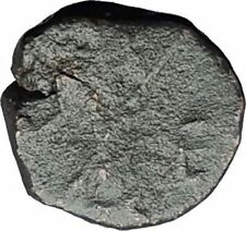 LEO I the Thracian & Wife Verina 457AD Nummus Genuine Ancient Roman Coin i59661