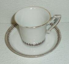 Rheinpfalz Hartporzellan Demi Tasse Cup and Saucer Antique Germany