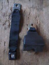Vintage  OEM Ford Seat Belt and retractor assembly 1978 Original BLACK