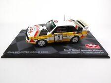Audi Sport Quattro Rallye Monte Carlo 1985 Rohrl 1:43 RALLY MODEL CAR RB5