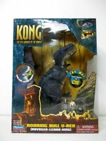 Playmates King Kong The 8th Wonder of the World Roaring Bull V-REX Figure NIB