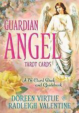 Guardian Angel Tarot Cards: A 78-Card Deck and Guidebook by Doreen Virtue, Radleigh Valentine (Paperback, 2014)