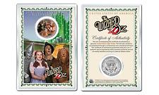 WIZARD OF OZ - Witch JFK Kennedy Half Dollar U.S. Coin with 4x6 Lens Display