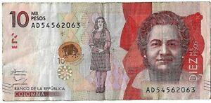 Colombia, 10000 (10.000) Pesos, 2016