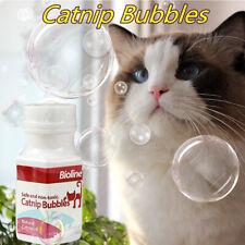 Narutal Catnip Bubble Catnip Essential Oil Spray Toys Non-Toxic Bubble Blower e