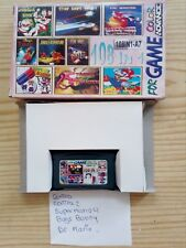 Juego Game Boy Advance 108 En 1 - Contra+Contra 2+Super Mario 4+Bugs Bunny+Dr Ma