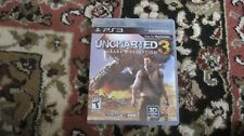 UNCHARTED 3 DRAKE'S DECEPTION PS3 SONY PLAYSTATION 3 3D COMPATIBLE GAME COMPLETE