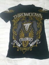 Throwdown By Affliction  Lithium T-Shirt size small mma