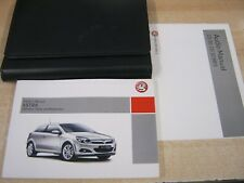 VAUXHALL ASTRA OWNERS MANUAL HANDBOOK  2004-2010  INC CD AUDIO  REF M70