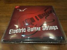 Cuerdas negros para guitarras y bajos