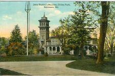 Baltimore, MD John Hopkin's Mansion in Clifton Park