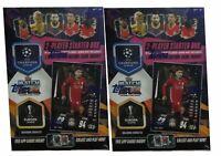 2X 2020/21 Topps Match Attax Champions League Soccer Starter Box Bonus card