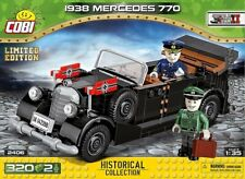COBI  1938 Mercedes 770 ( 2406 ) 320 blocks WWII German car  Limited Edition