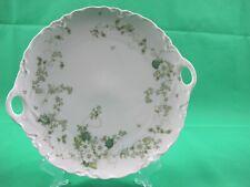 Hutschenreuter Porzellan Tortenplatte / Kuchenplatte  , Blumen Dekor