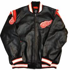 Vintage NHL G-III Detroit Red Wings Varsity Bomber Jacket Large