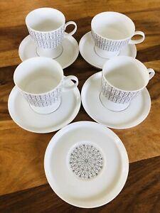 Rosenthal Studio Line Composition Eisblume Tapio Wirkkala Kaffee Set Tassen