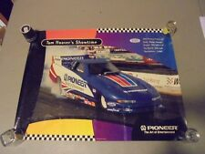 1995 TOM HOOVER SHOWTIME DODGE AVENGER PIONEER RACING FUNNY CAR POSTER,NHRA RACI