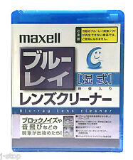 Wet Type Maxell Blu ray Lens Cleaner PS4 /PS3 /PS2 Bluray Error Cleaning Kit