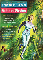 Fantasy and Science Fiction FRITZ LEIBER Algis Budrys P G WODEHOUSE Boucher
