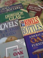 7 COLLECTOR'S GUIDES: RED WING, KOVEL, AMERICAN OAK FURN, WATT, DEPRESSION GLASS