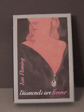 Ian Fleming Diamonds are Forever First Edition Library FEL 1st Edition