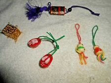 Vintage Dollhouse Oriental Decoration Lot See Pics