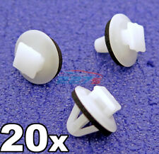 20x Plastic Trim Clips for Toyota Side Mouldings, Wheel Arch & Vent Trims