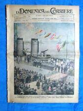 La Domenica del Corriere 10 dicembre 1921 Solferino - Falcone - Washington