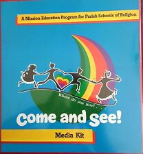 Catholic Mission Education Program Media Kit CDs Video Film Strips Korea Chile