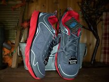 ATHLETIC WORKS MENS RUNNING SHOES SIZE 11 COLOR GRAY RED MENS CASUAL SNEAKERS