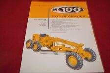 Allis Chalmers M100 B Motor Grader Dealer's Brochure YABE14