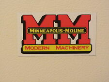 MINNEAPOLIS MOLINE 5 STAR Fridge/tool box magnet