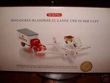 WIKING Artnr. 9903052 Miniaturen-klassiker zu lande und In der LUFT