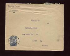 PORTUGAL 1931 COVER PINHEL...PEREIRA 1.25 SOLO FRANKING