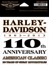 Harley-Davidson 110th Anniversary Legend HARLEY DECAL
