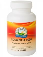 NATURE'S SUNSHINE Boswellia 2000 90 tablets Indian Frankincense arthritis joints