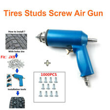 1000PCS Car Tires Studs Screw Snow Spikes Tyre Snow Chains Studs W/ Air Gun Tool