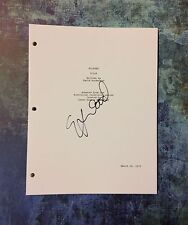 GFA Wilfred Star * ELIJAH WOOD * Signed Full TV Script COA
