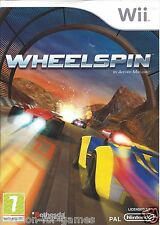 WHEELSPIN for Nintendo Wii - with box & manual - PAL