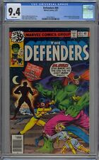 Defenders #69 CGC 9.4 NM Wp Marvel Comics 1979 Valkyrie Returns to Old Costume