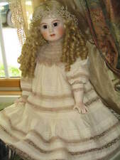 Dress For Porcelain Doll BruJne Jumeau AT Antique French German Reproduction